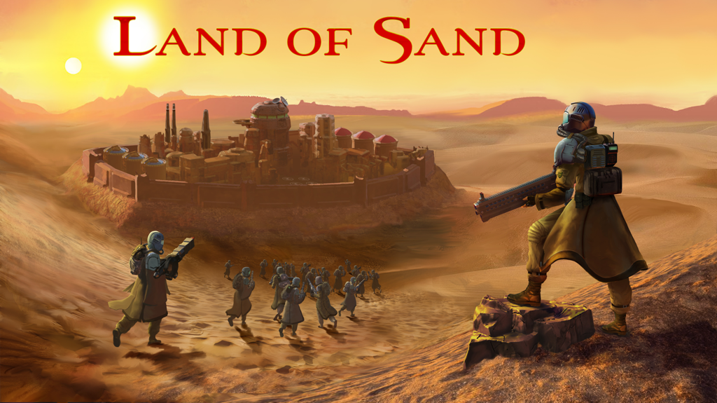 Land of Sand real-time strategy